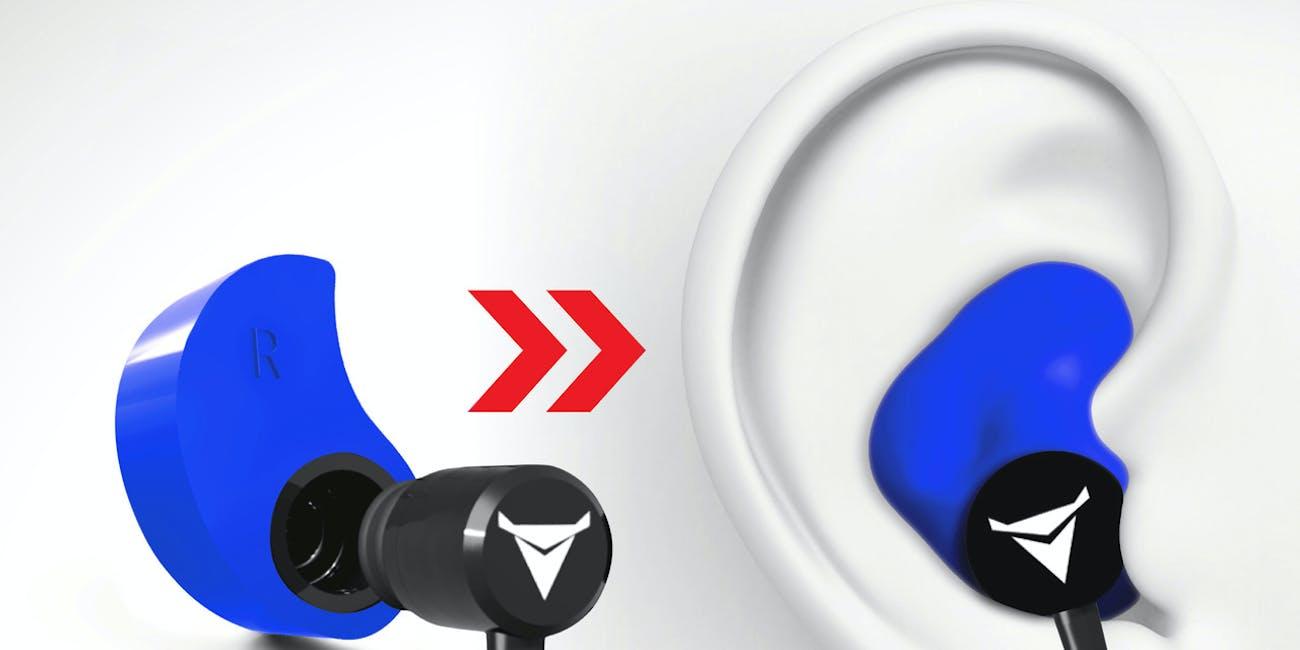 Decibullz Custom Fit Bluetooth Wireless Earphones headphones  heat molded to fit your ear