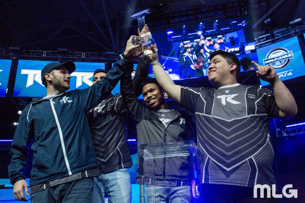 Theory, Kenny, Accuracy, and Chino of Team Kaliber took home the victory.