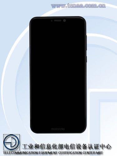 Motorola One Mockup