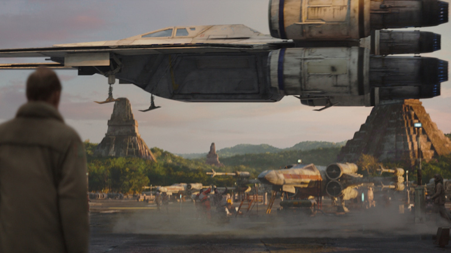 """The saga's brand new """"wing-wing vessel."""""""