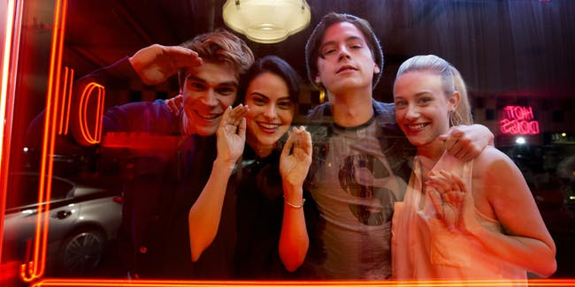 The cast of The CW's 'Riverdale'