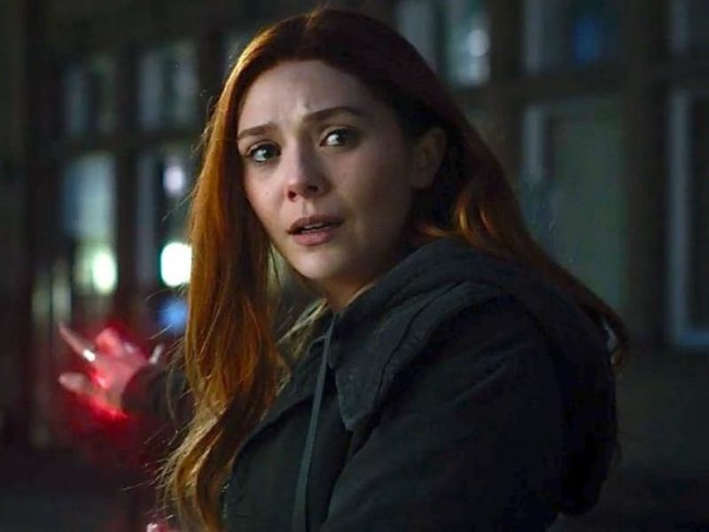 Scarlet Witch in 'Avengers: Infinity War'.