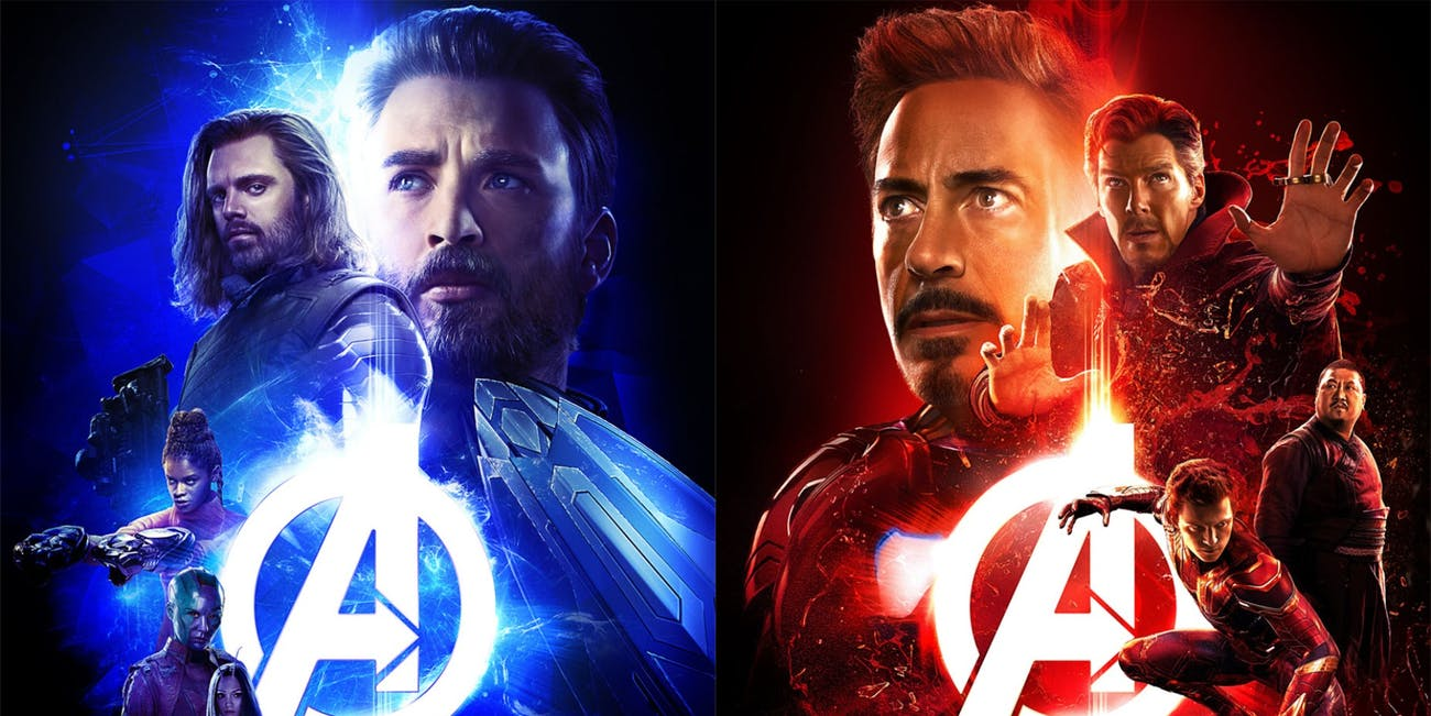 the new avengers infinity war posters show many of the team ups well see in the movie