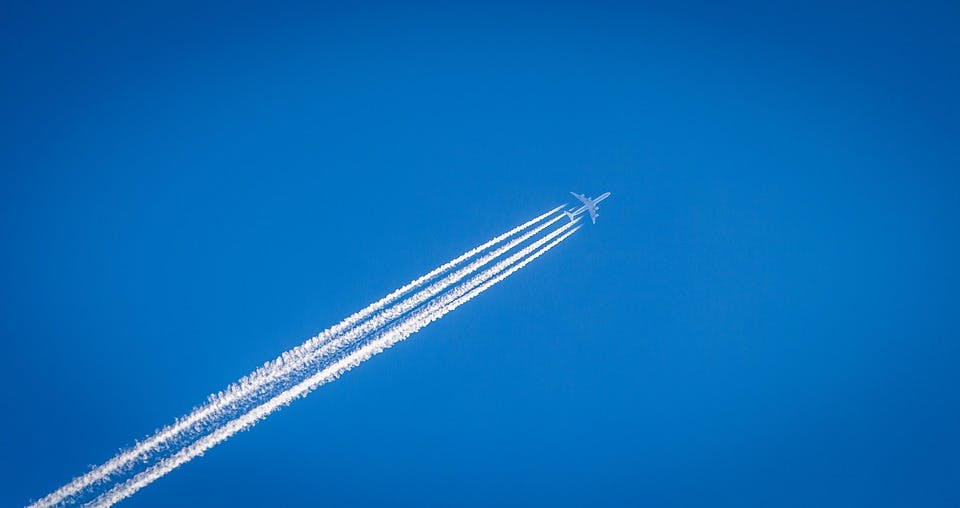 By 2050, Airplane Contrails Will Do Triple the Damage They Do Today