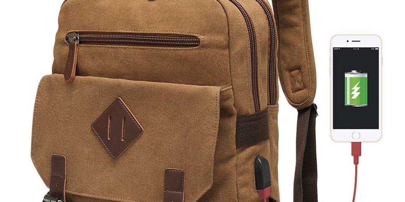 Vintage Backpack for Men
