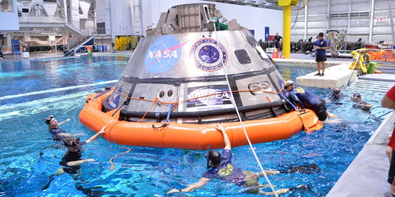 NASA testing Orion water recovery