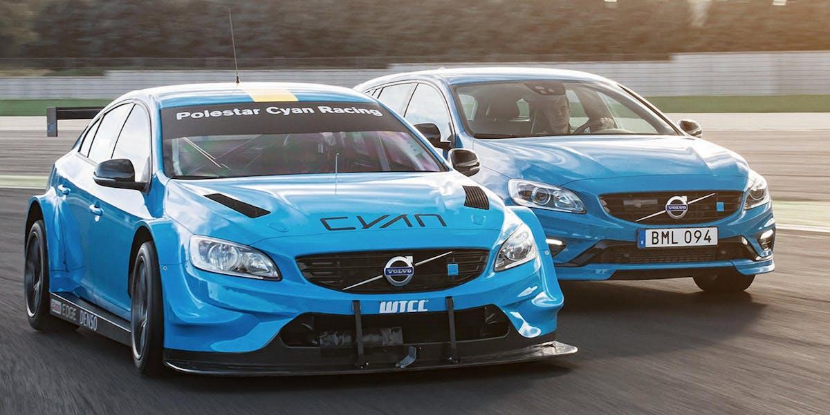 Polestar race car electric Volvo vehicle announcement