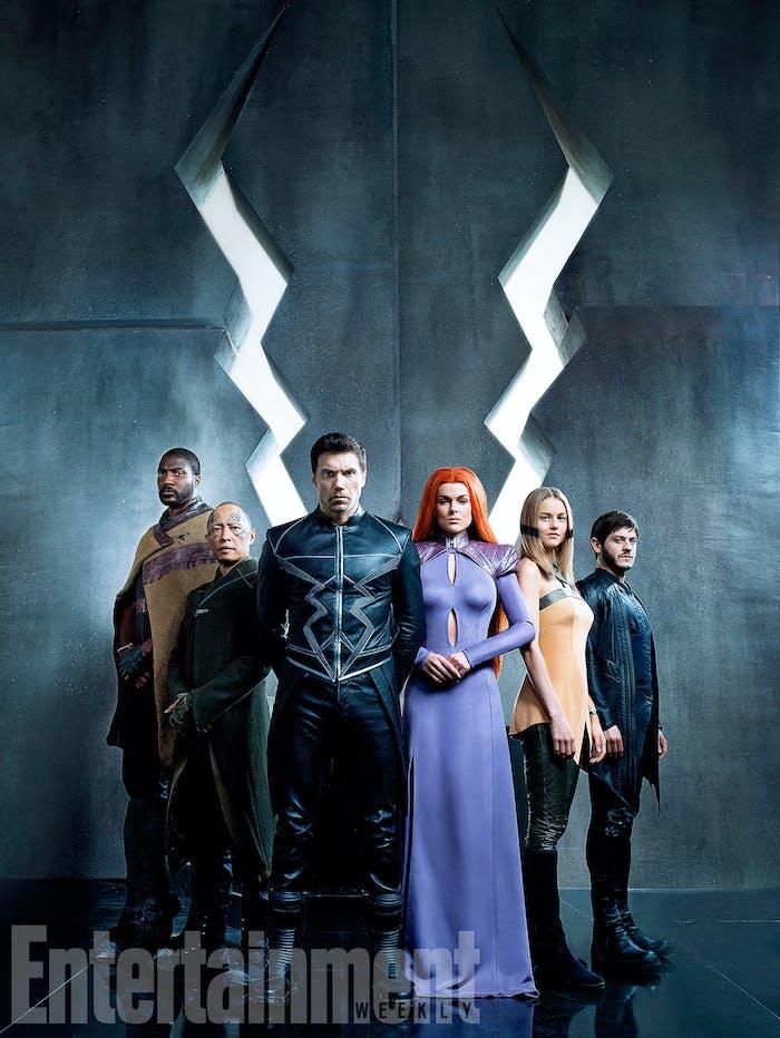 Eme Ikwuakor as Gorgon, Ken Leung as Karnak, Anson Mount as Black Bolt, Serinda Swan as Medusa, Isabelle Cornish as Crystal, and Iwan Rheon as Maximus.