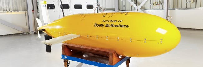 Boaty McBoatface is an unmanned submersible on its first Antarctic research mission.