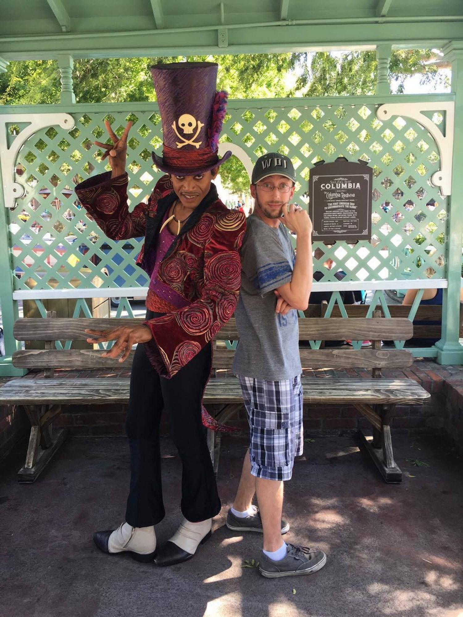 Heimbuch at Disneyland