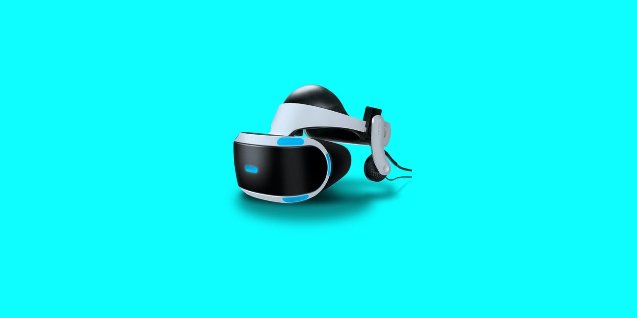 sony playstation vr psvr headset virtual reality