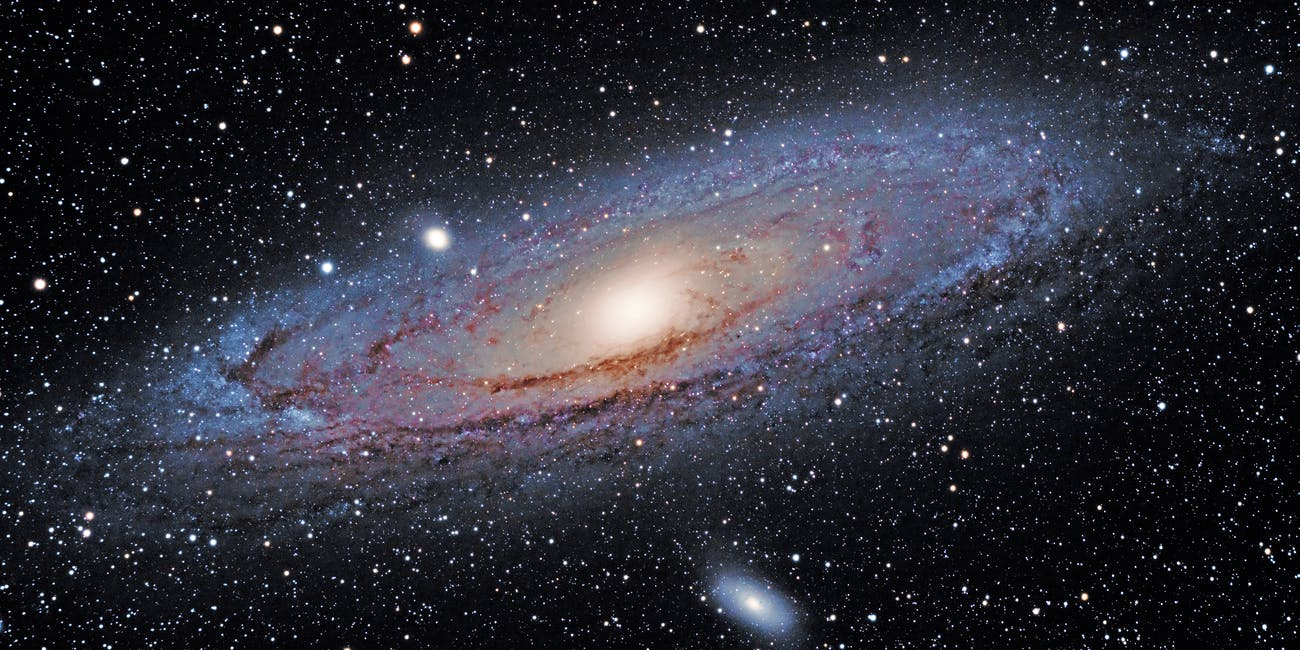 M31, the Andromeda Galaxy, and M32 and M110 on September 20th, 2014