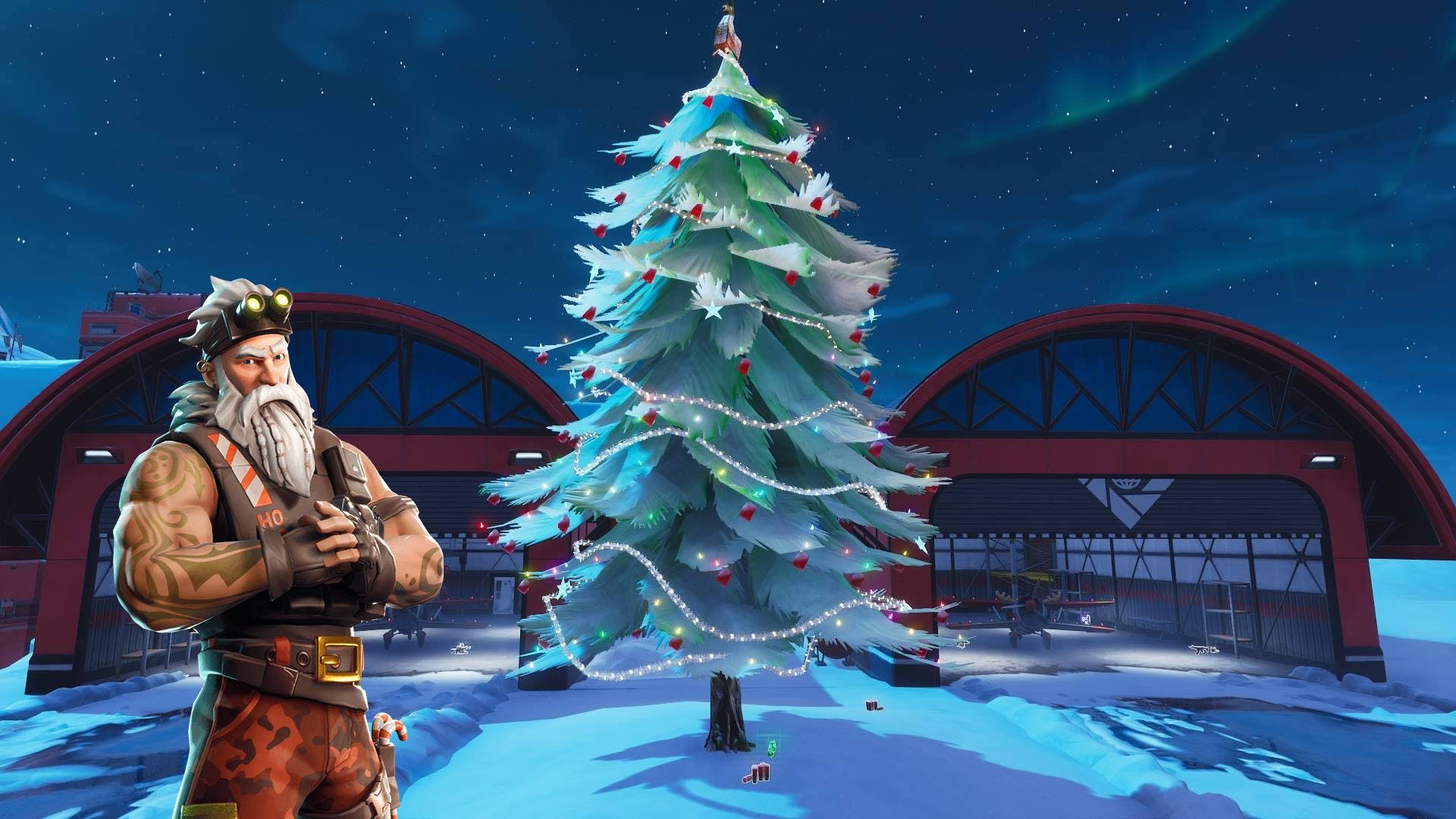 Fortnite Holiday Tree Locations Map How To Beat The Christmas