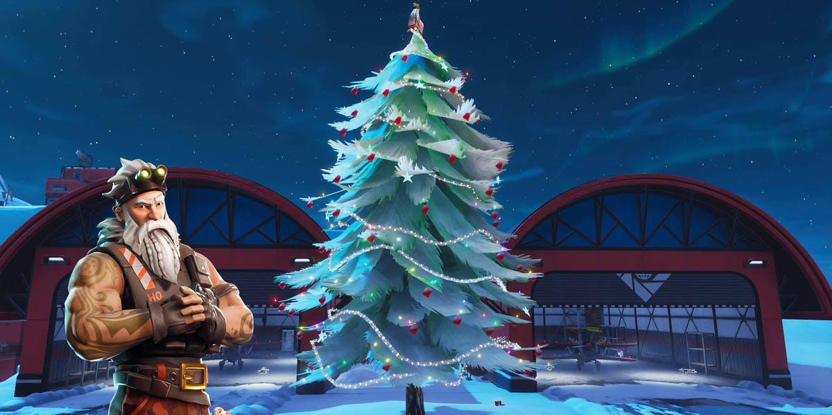 'Fortnite' Holiday Tree Locations Map: How to Beat the Christmas Challenge   Inverse