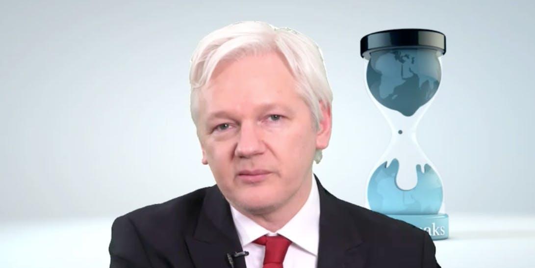 Julian Assange Wikileaks press conference