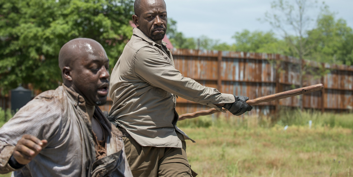 Morgan S Weapon In The Walking Dead A Brief History Of