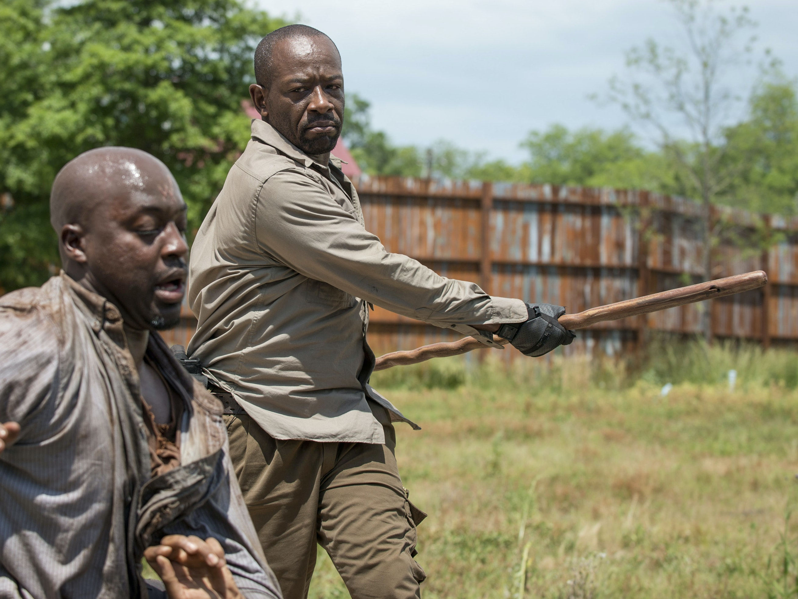 Morgan's Weapon in 'The Walking Dead': A Brief History of the Bō