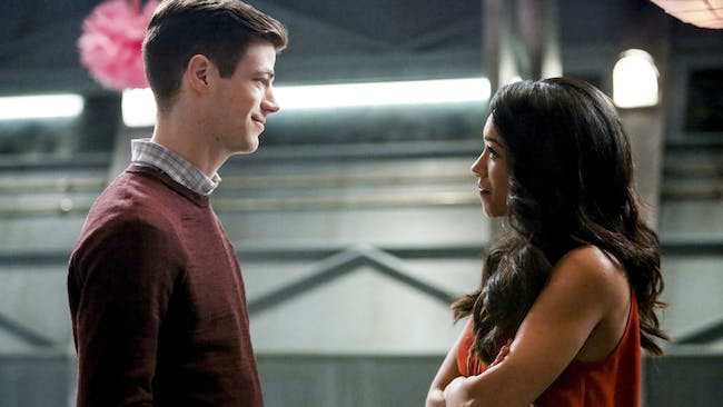 Barry and Iris are finally tying the knot.