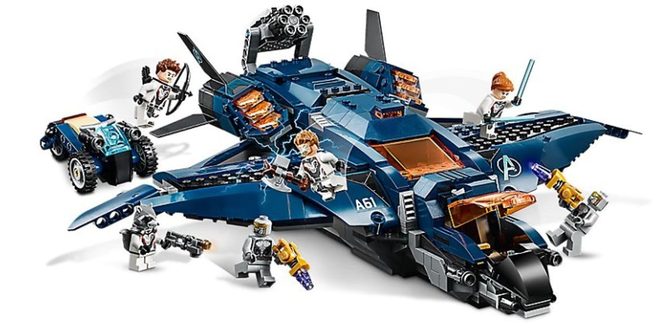 The Quinjet solves for all of your transportation needs