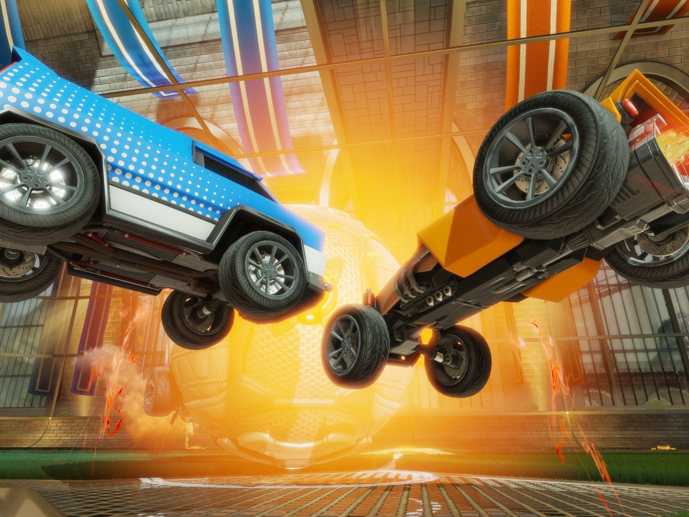 The First Cross-Console Play? 'Rocket League' May Allow Xbox Gamers to Challenge PS4
