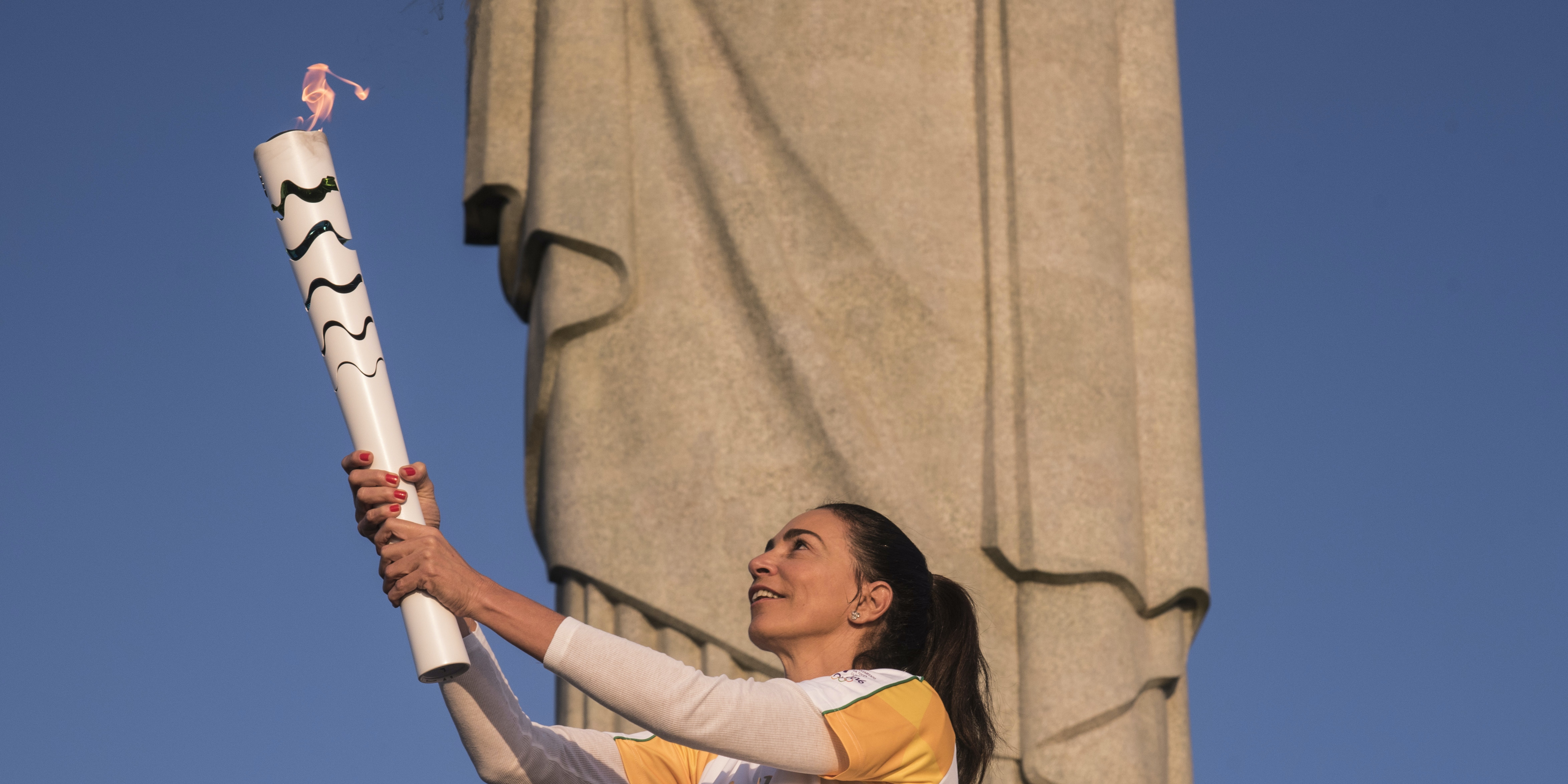 The Olympic torch and the Olympic flame are actually not the same thing.