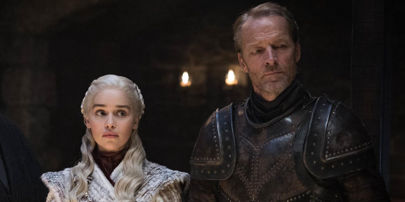 Game of Thrones Season 8 Jorah Dany