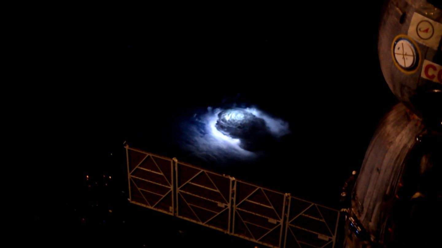 Andreas Mogensen became the first astronaut to capture the rare blue flashes in detail.