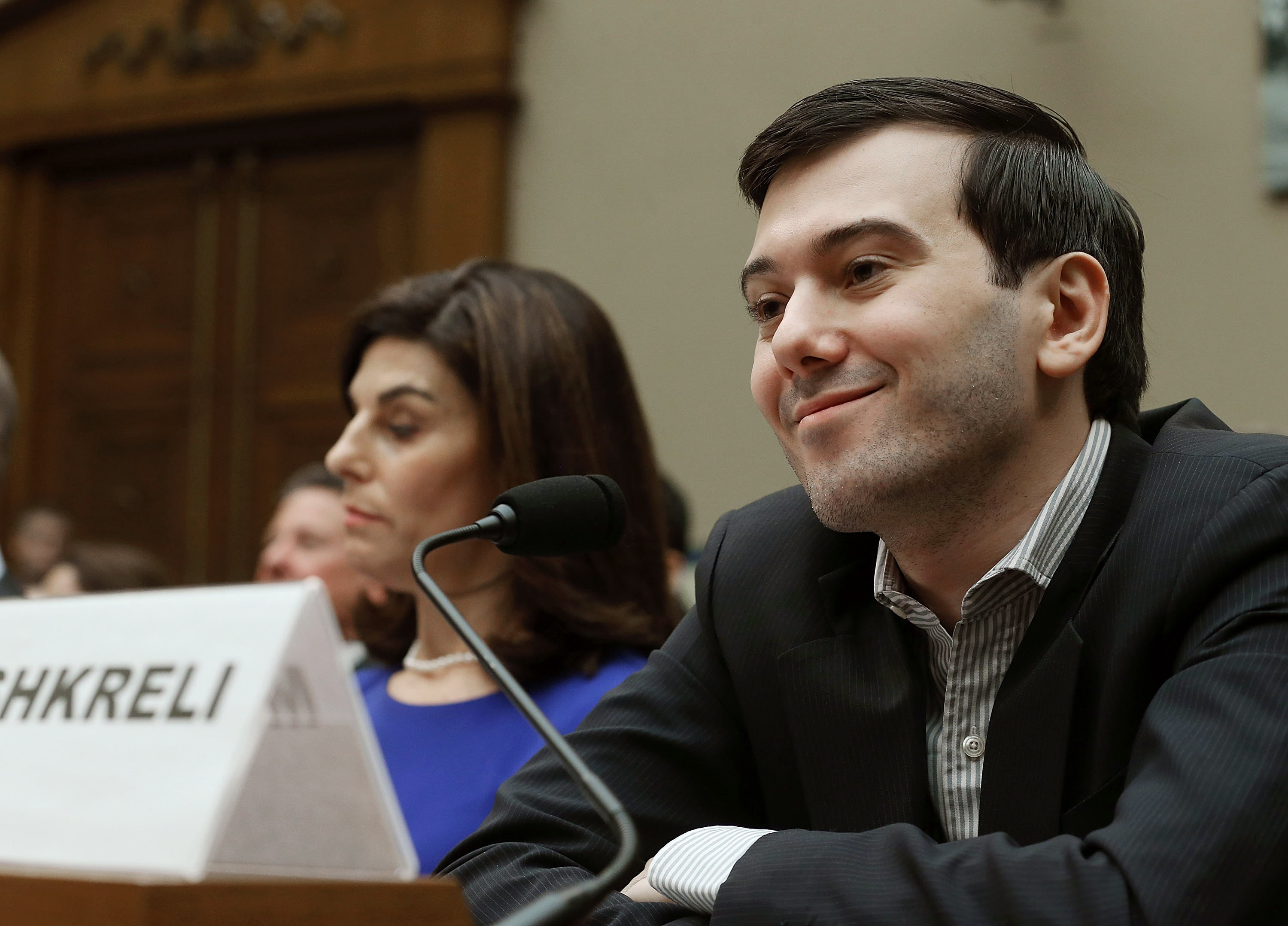 Martin Shkreli, Disgraced Pharmaceutical CEO, Calls Members of Congress 'Imbeciles' After Hearing