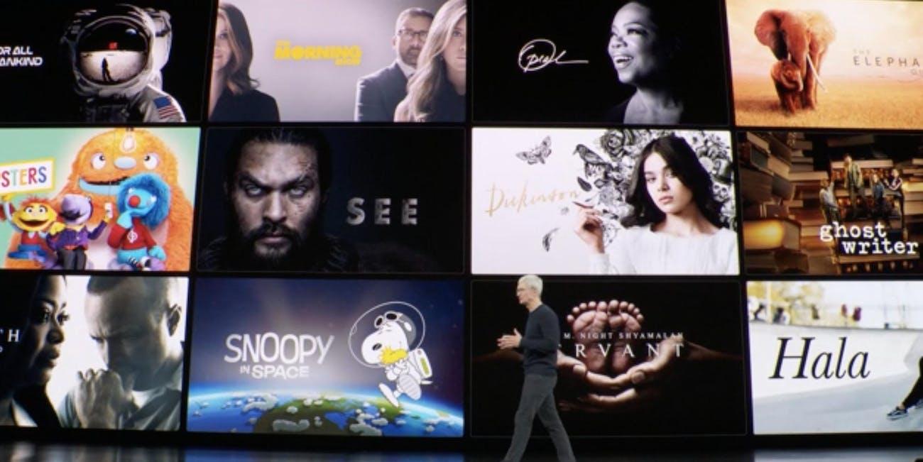 apple tv plus release date price