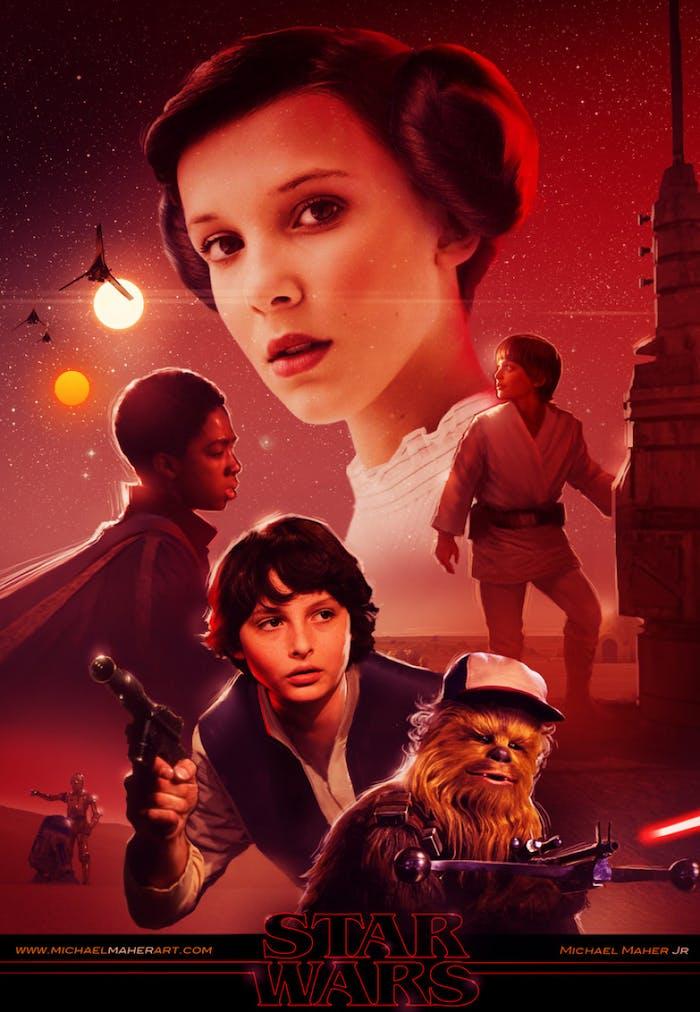 Millie Bobby Brown should be Princess Leia.