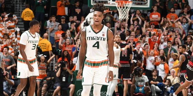 NCAA basketball university of Miami