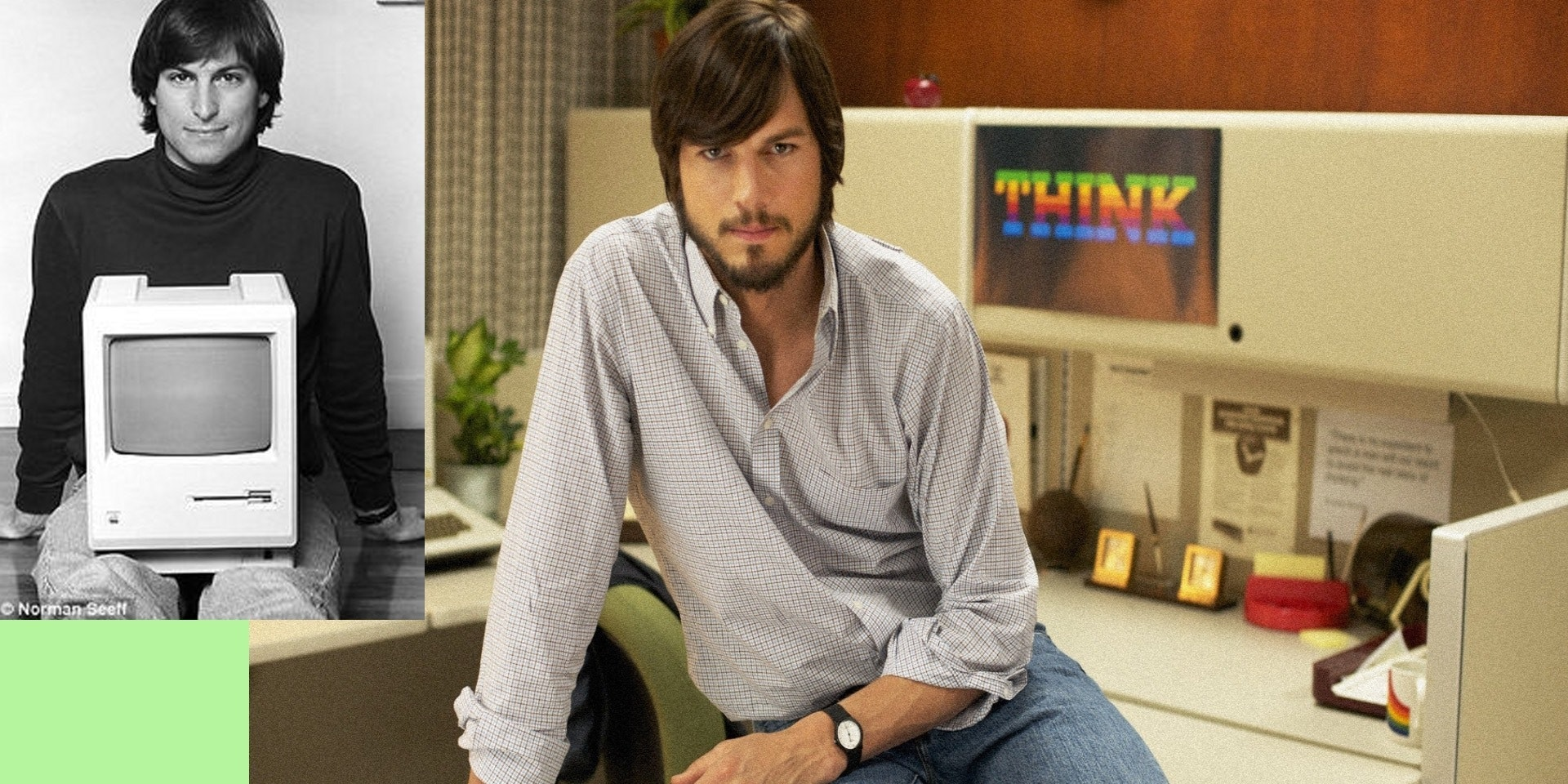 Steve Jobs / Ashton Kutcher