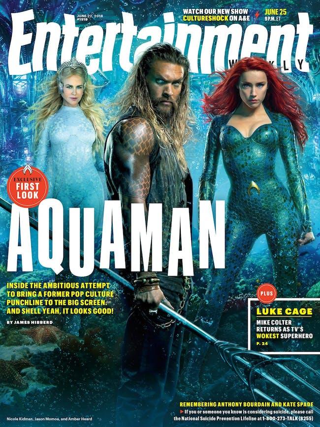 Aquaman Entertainment Weekly