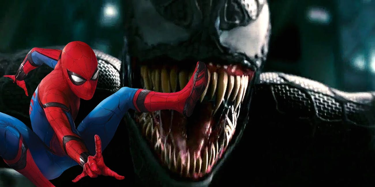 venom teaser trailer where's spider-man