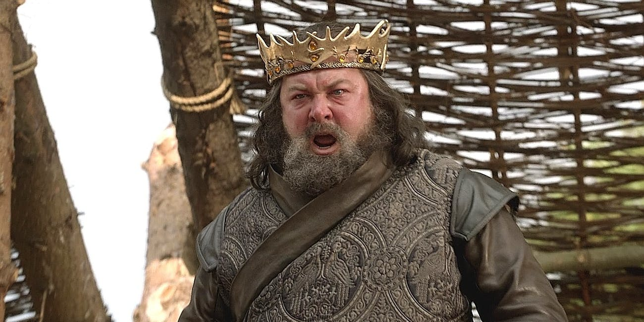 Robert Baratheon was actually a brilliant strategist.