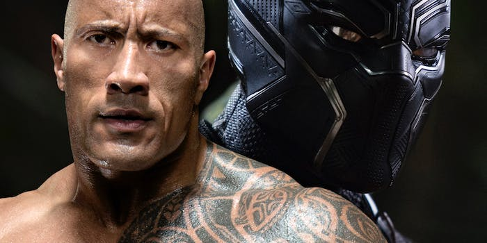 Black Panther The Rock