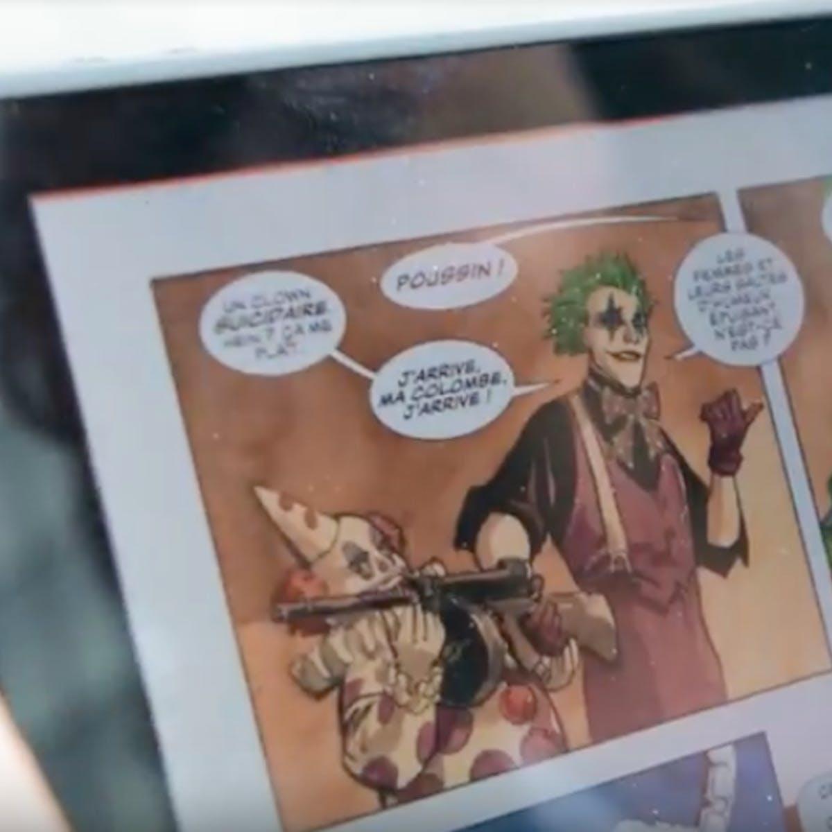 Nintendo Switch Comic Book Reader: Izneo Beats DC Universe