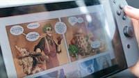 Izneo digital comics reading.