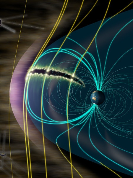 How Earth Uses Solar Winds To Make Auroral Explosions