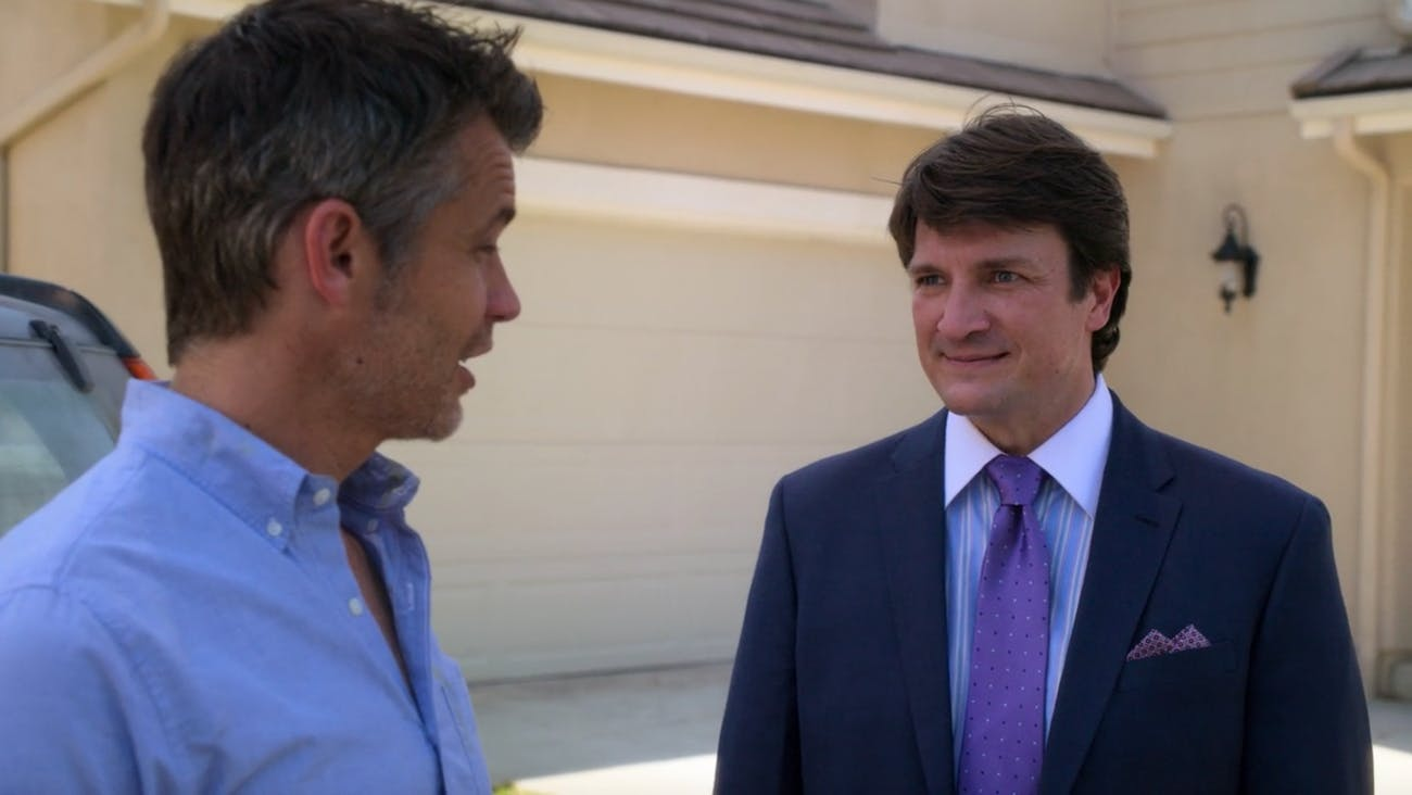 Nathan Fillion in Netflix's 'Santa Clarita Diet'