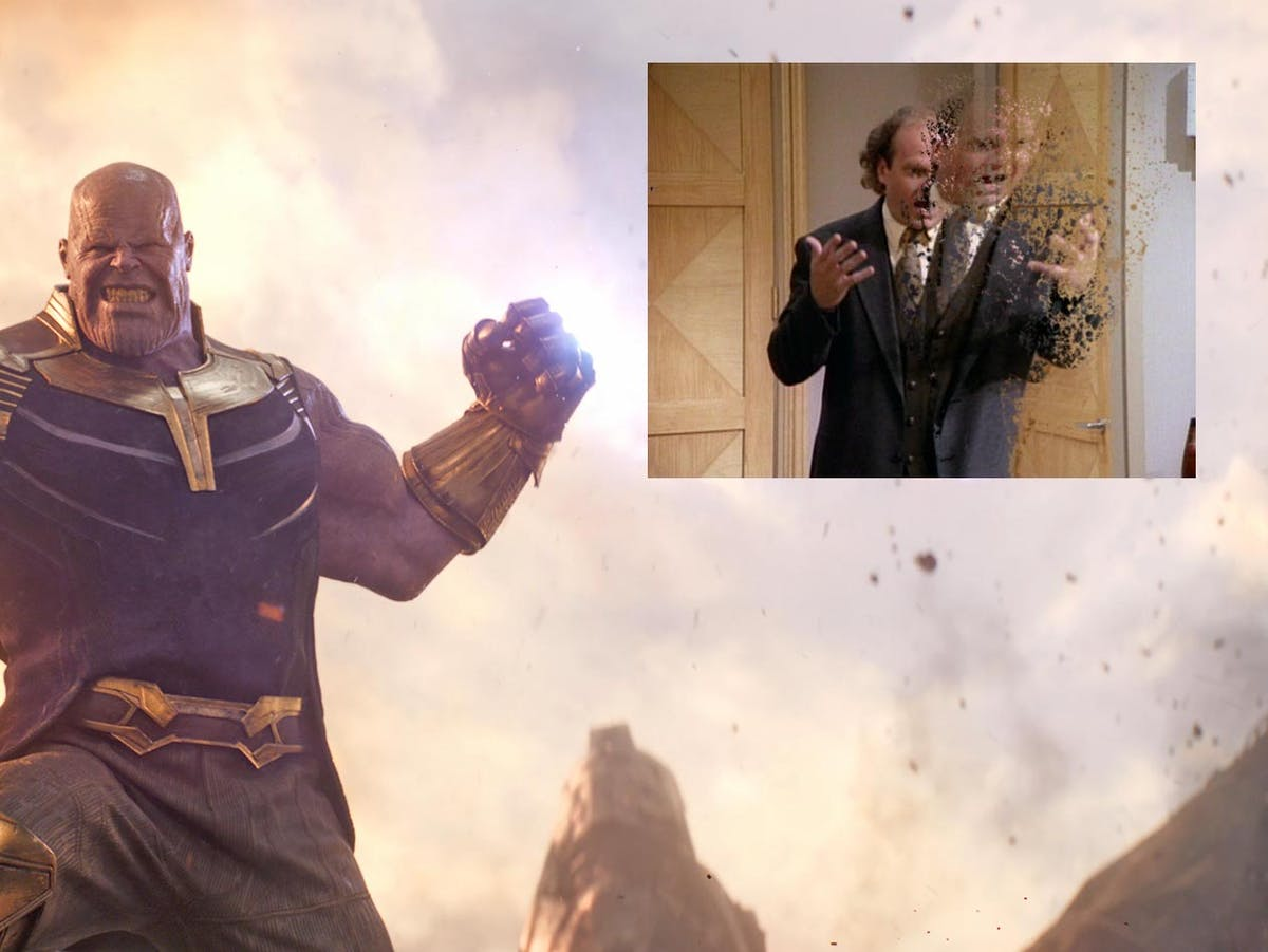 Avengers: Infinity War' Disintegration Meme Makes Fun of the Darkest