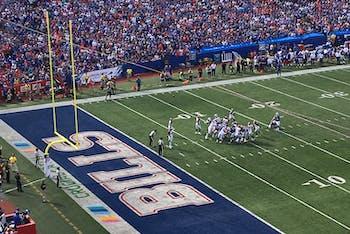 Buffalo Bills game - October 22. 2017