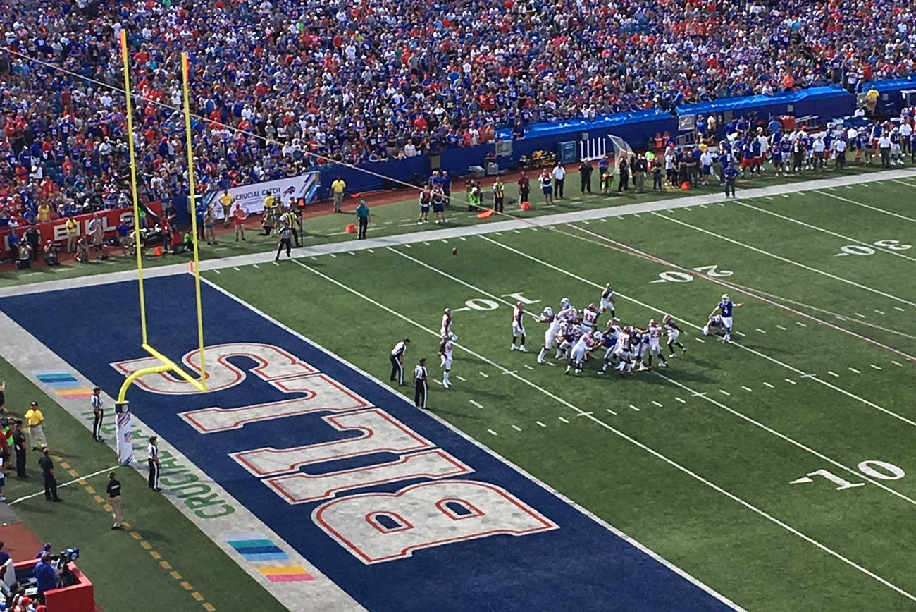 Buffalo Bills game - October 22. 2017