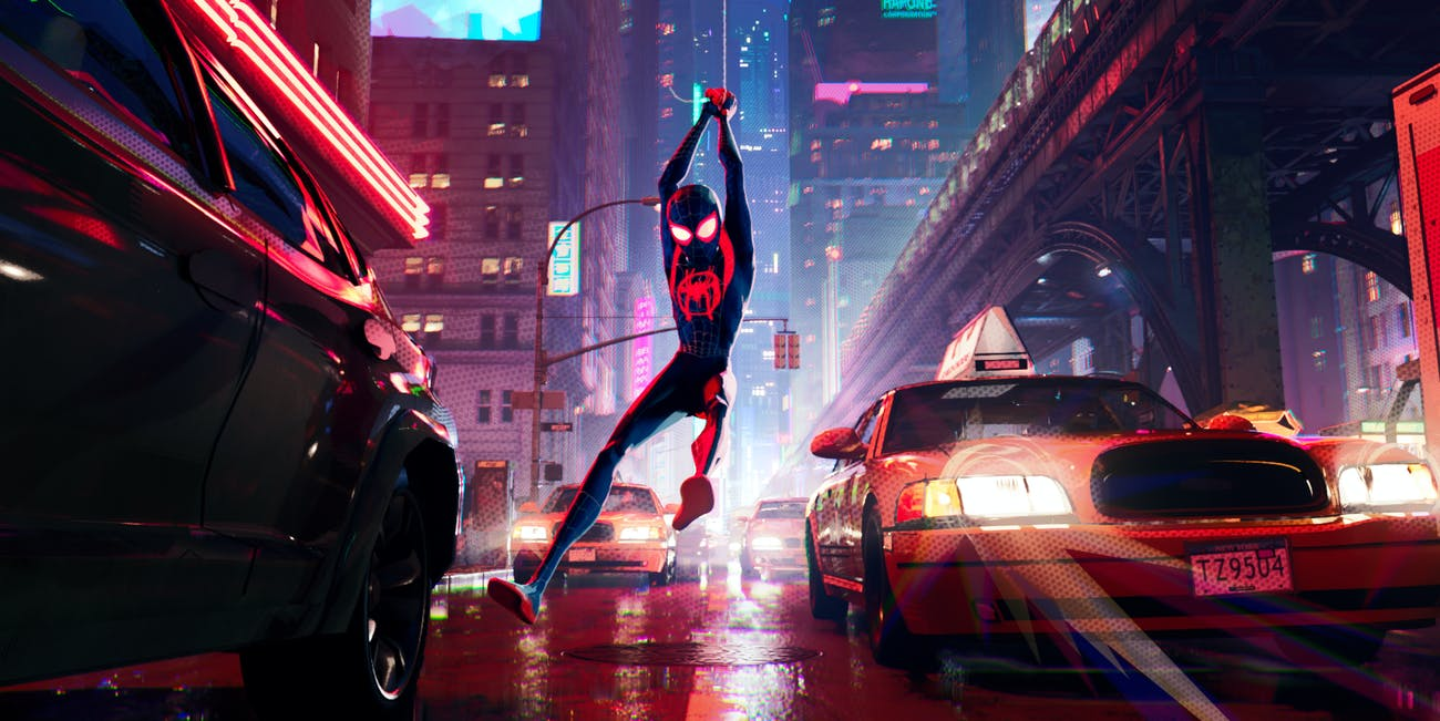 Spider-Man Into the Spider-Verse Oscars