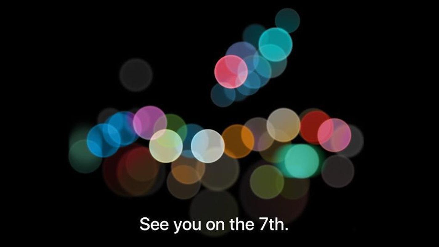 The invitation Apple sent to the media.