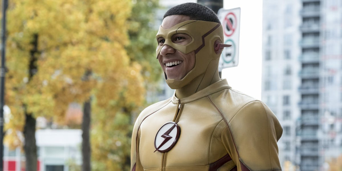 Keiynan Lonsdale as Kid Flash on 'The Flash'