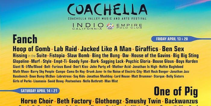 Coachella, Neural network, twitter