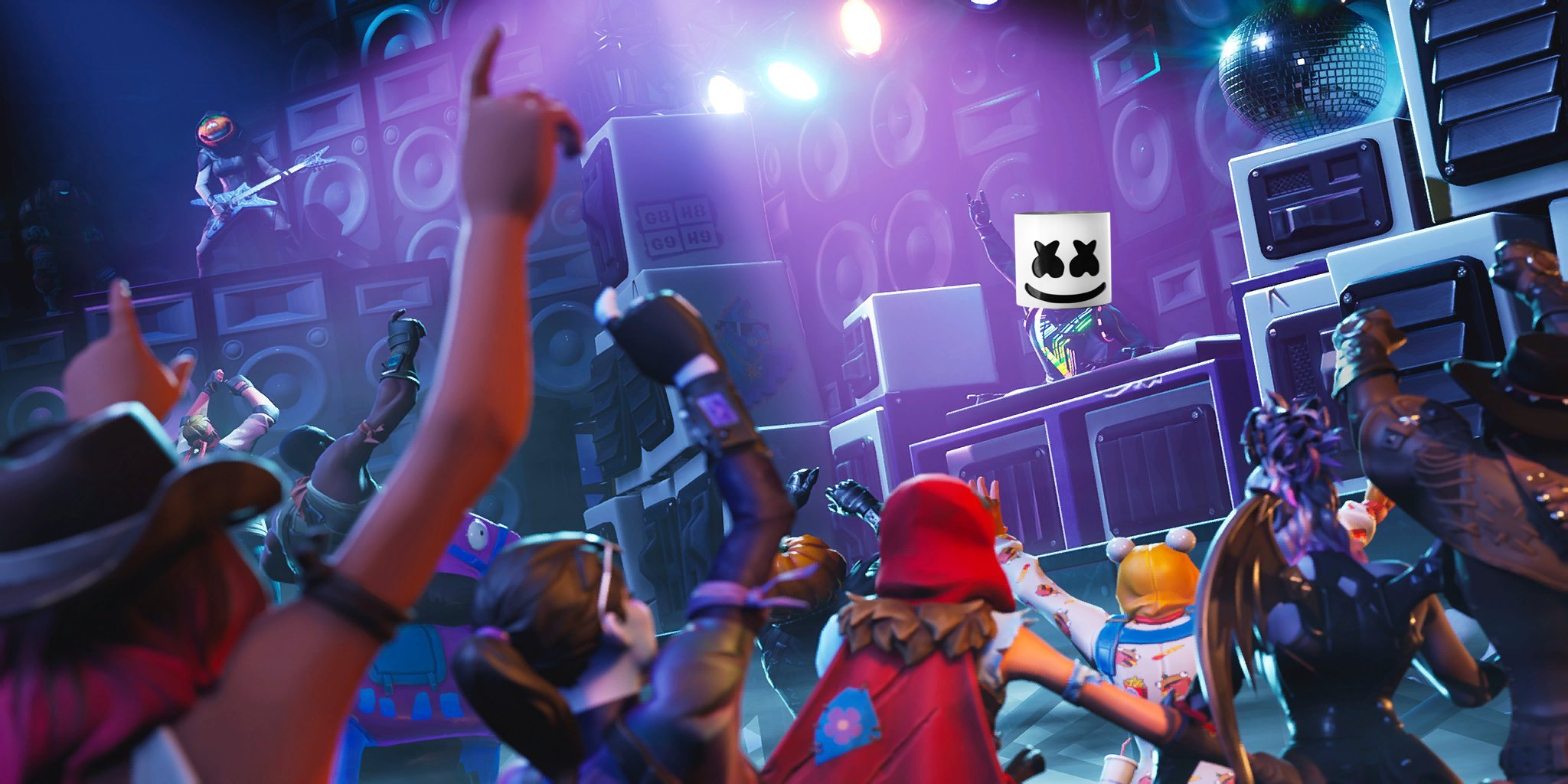 fortnite marshmello leak teases new collaboration possible season 8 skin - marshmello fortnite song alone