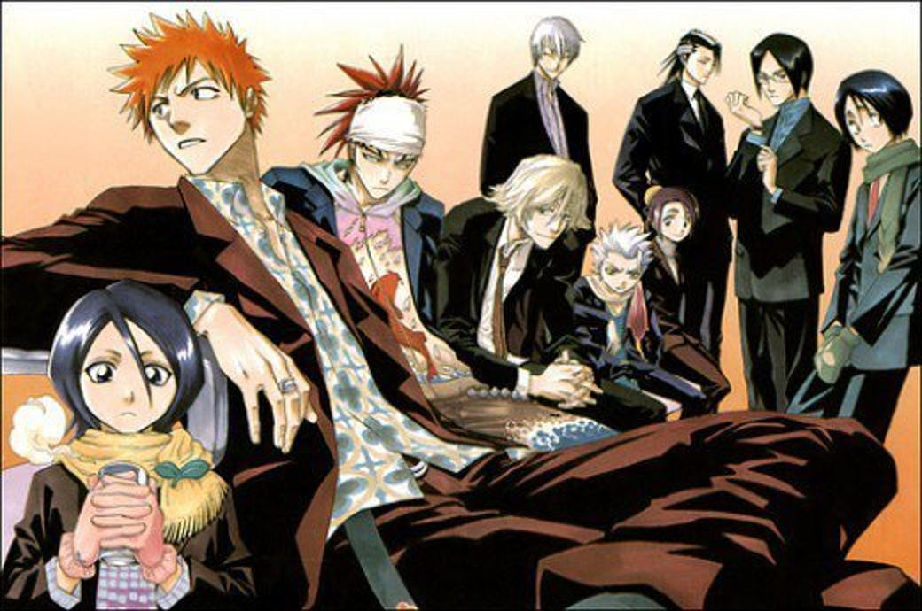 'Bleach' has a diverse array of characters.