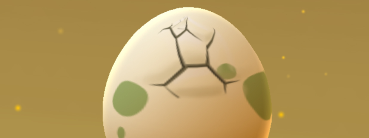 Egg hatching in Pokemon Go from Niantic